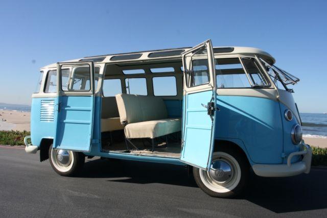 1964 Volkswagen Bus Kombi 23 Window Safari Windows Pop