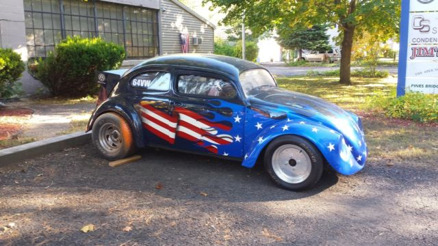 1964 Vw Beetle Drag Car Chopped Top For Volkswagen Clic In Beacon Falls Connecticut United States