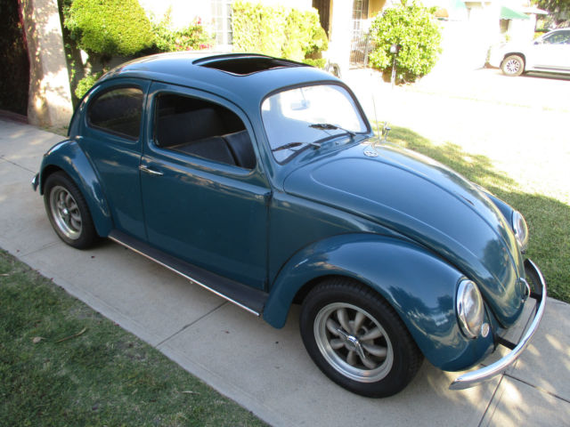 1964 vw bug working factory sunroof solid california driver volkswagen beetle for sale. Black Bedroom Furniture Sets. Home Design Ideas