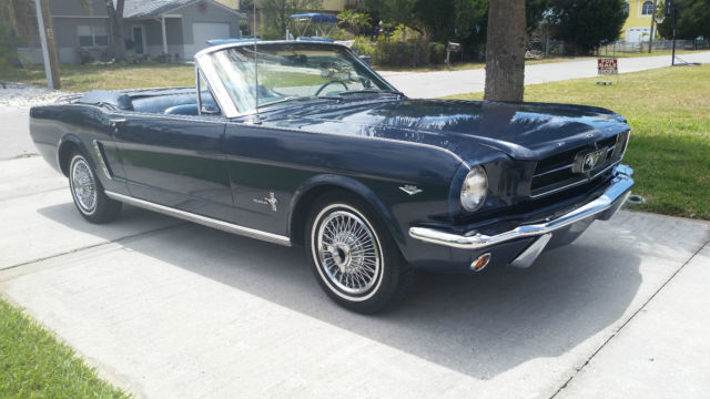 19641 2 ford mustang convertible 1965 1966 for sale ford mustang 1964 for sale in hudson. Black Bedroom Furniture Sets. Home Design Ideas