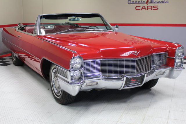 1965 Cadillac Deville For Sale: 1965 Cadillac Convertible! Great Driver! A/C, Go Cruise