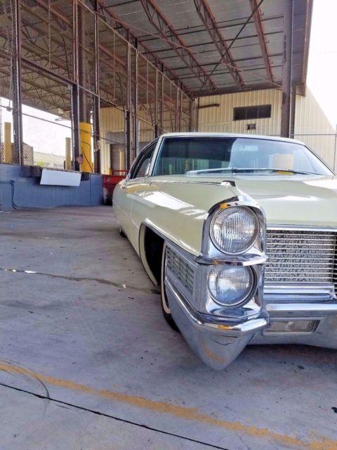 1965 Cadillac Coupe DeVille Airride bagged lowrider survivor