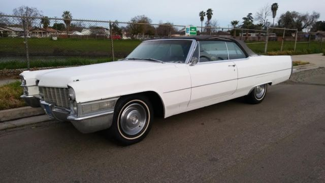 1965 cadillac coupe deville convertible solid california. Black Bedroom Furniture Sets. Home Design Ideas