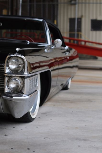 1965 Cadillac Deville Convertible Air Ride Bagged For Sale