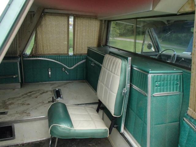 1965 Cadillac Fleetwood Hearse Ambulance Combination for