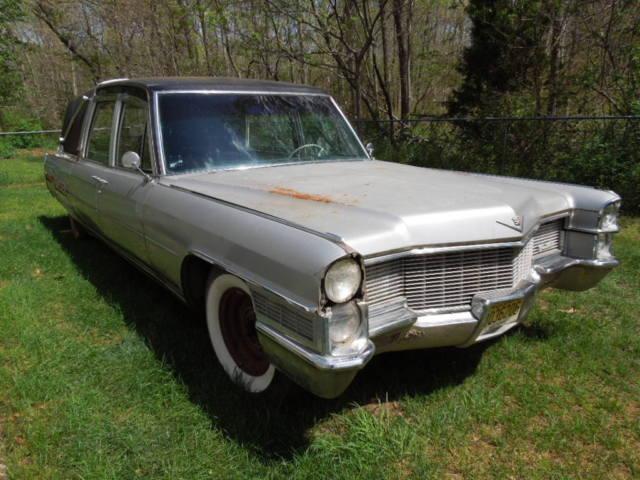 1965 Cadillac hearse Commercial rat rod three way slider ...