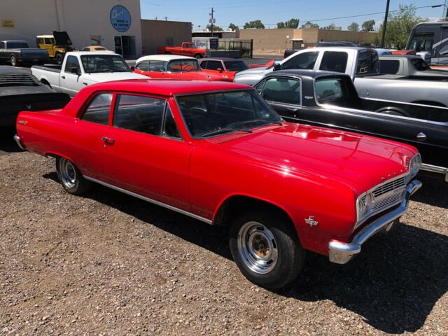 1965 Chevelle Post Car 350ci engine, turbo 350, and 12 bolt
