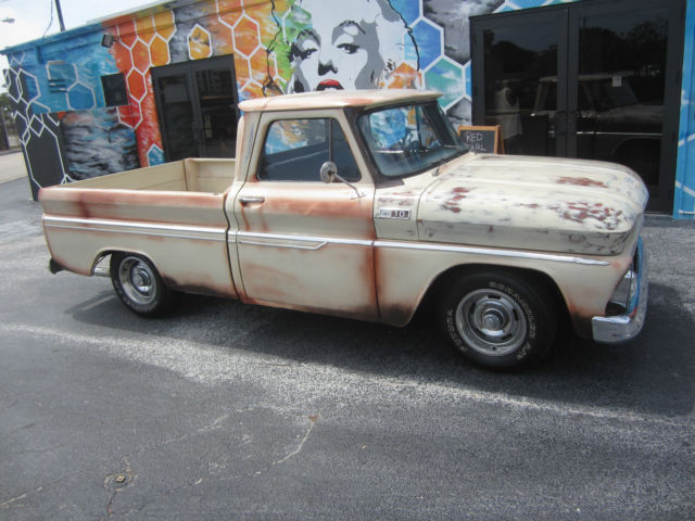 1965 CHEVROLET C 10 PATINA PICK UP SHORT BED OLD SCHOOL