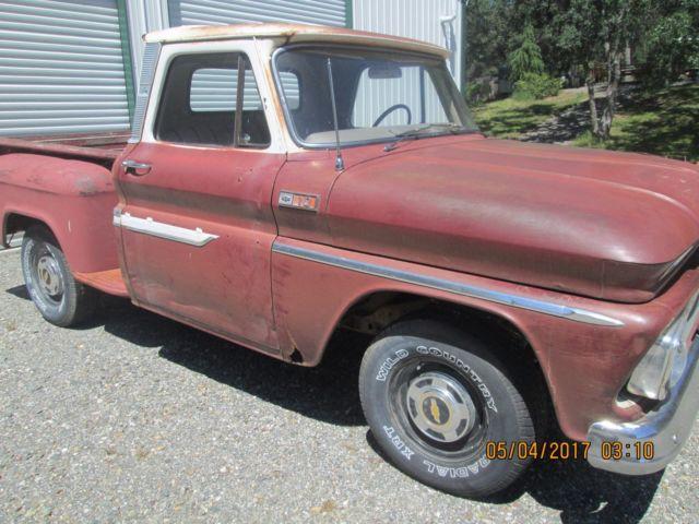 1965 chevrolet c 10 pickup truck shortbed stepside chevy for sale chevrolet c 10 1965 for sale. Black Bedroom Furniture Sets. Home Design Ideas