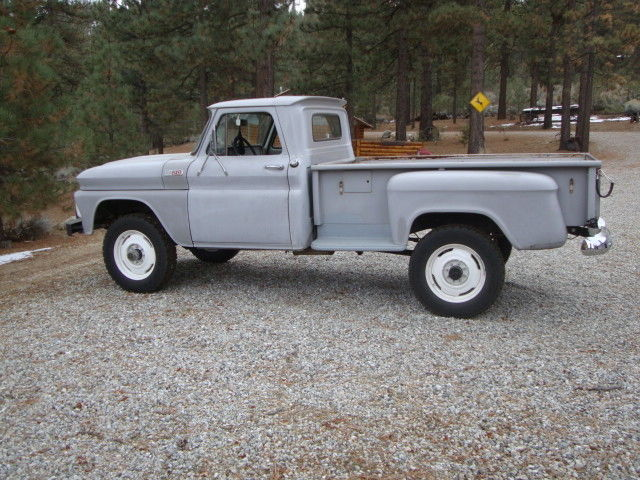 Chevy Ton Long Bed Stepside X Wood Hauler Forest Ranger Wheels on 1965 Chevy Truck 292 Engine