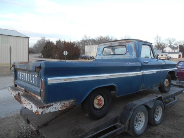 1965 chevy c10 longbed straight project truck pickup patina 1964 1966 nr for sale chevrolet c. Black Bedroom Furniture Sets. Home Design Ideas