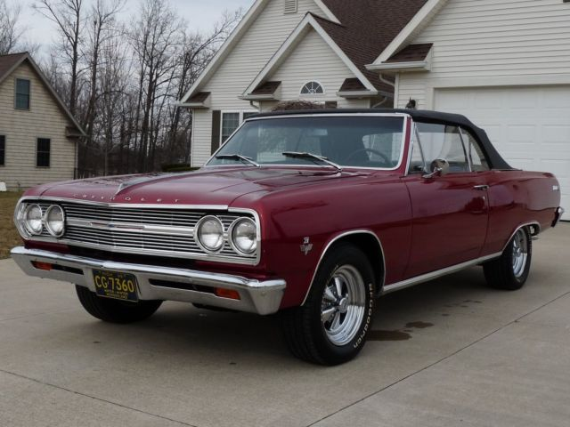 1965 chevy chevelle malibu ss clone convertible 327 350hp. Black Bedroom Furniture Sets. Home Design Ideas