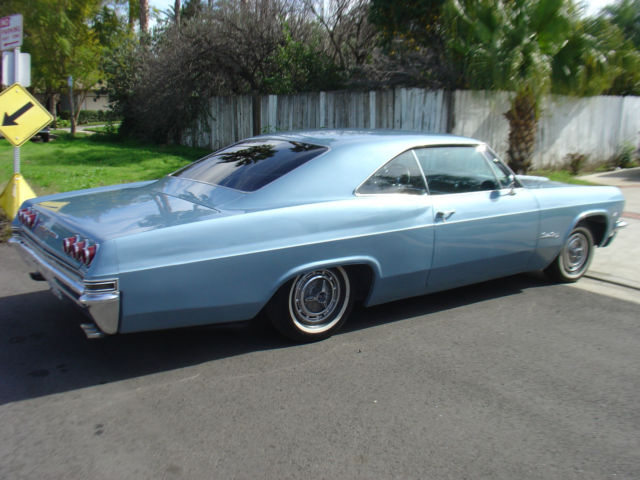 1965 Chevy Impala Fastback Ss Super Sport Coupe For Sale