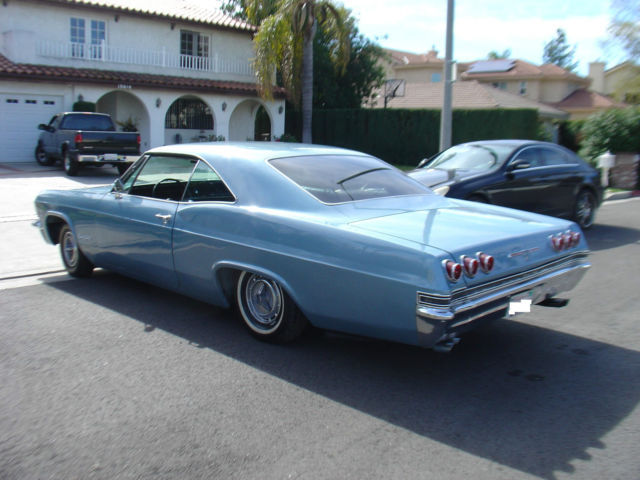 1965 chevy impala fastback ss super sport coupe for sale chevrolet impala 1965 for sale in los. Black Bedroom Furniture Sets. Home Design Ideas