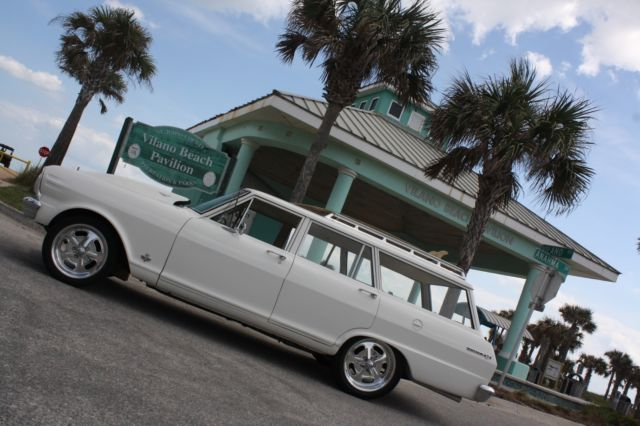 1965 Chevy Nova Wagon Rust Free 355 Posi Hot Rod Muscle Car Pro