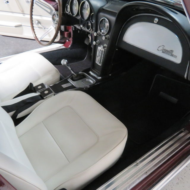 1965 corvette coupe 39 s matching 327 365hp rare 437 trim tag 2 tone interior for sale. Black Bedroom Furniture Sets. Home Design Ideas