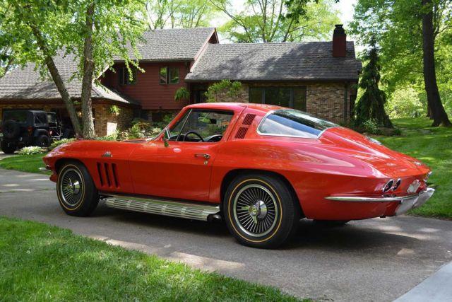 1965 corvette stingray coupe big block 396 c i 425 hp high performance for sale chevrolet. Black Bedroom Furniture Sets. Home Design Ideas