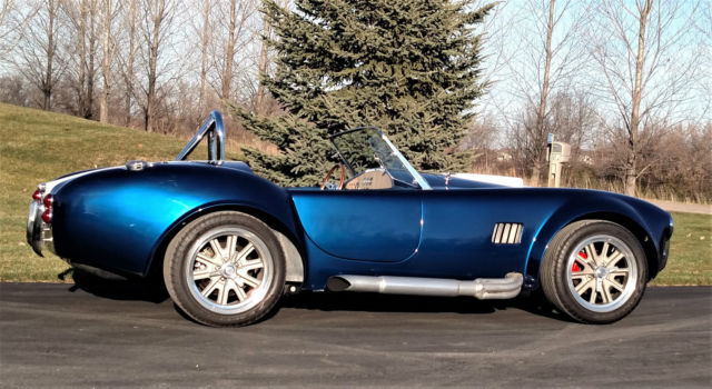 1965 factory five shelby cobra with a 500 hp 427w stroker lowered reserve for sale shelby. Black Bedroom Furniture Sets. Home Design Ideas
