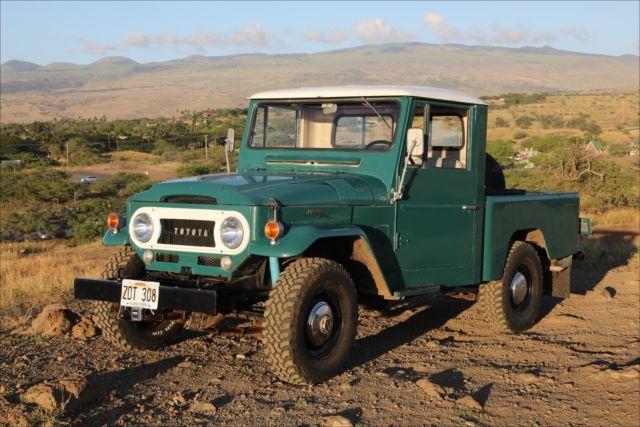 1965 FJ45 Short Bed - USA Spec Survivor for sale - Toyota Land
