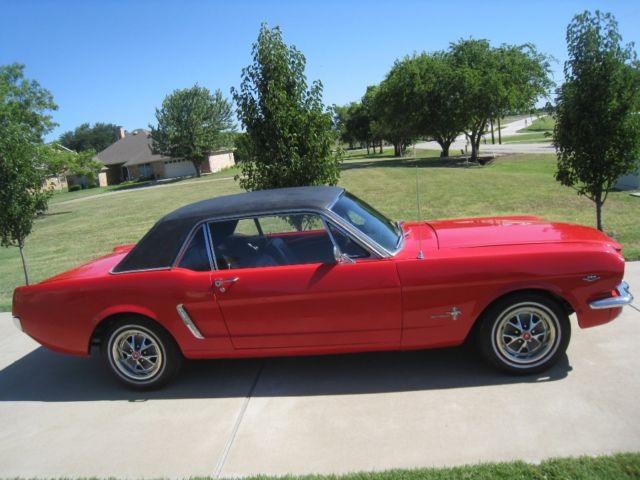 1965 Ford Coupe Mustang Auto 289 4v C Code For Sale Ford