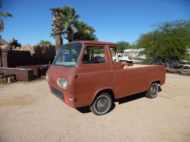 1965 ford econoline 5 window pickup spring special very rare orig ca truck for sale ford. Black Bedroom Furniture Sets. Home Design Ideas