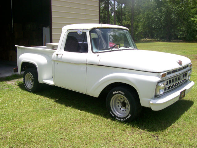 1965 ford f 100 standard cab stepside pickup 2 door v8 360motor for sale ford f 100 stepside. Black Bedroom Furniture Sets. Home Design Ideas