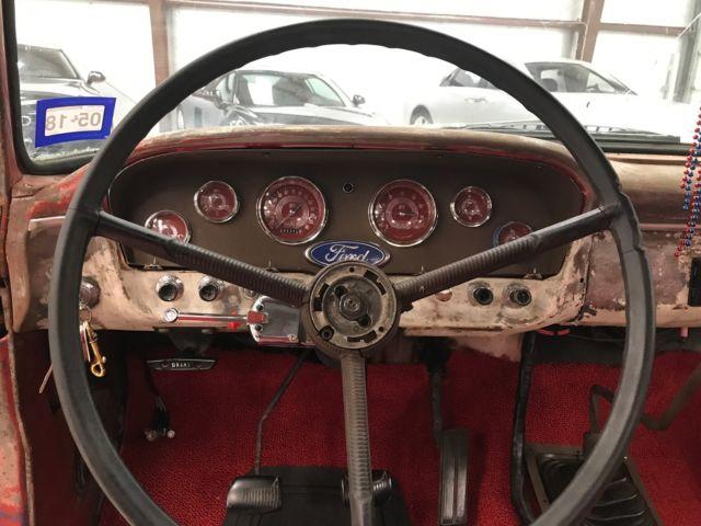 1965 Ford F100 - Crown Vic Clip, FI 5 0, Explorer Axle