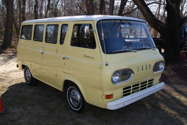 1965 ford falcon econoline camper van rare must see rv inline 6 3spd for sale ford. Black Bedroom Furniture Sets. Home Design Ideas