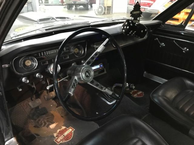 Ford Mustang Fastback Speed Raven Black With Black Interior on 1966 Mustang Vin Location