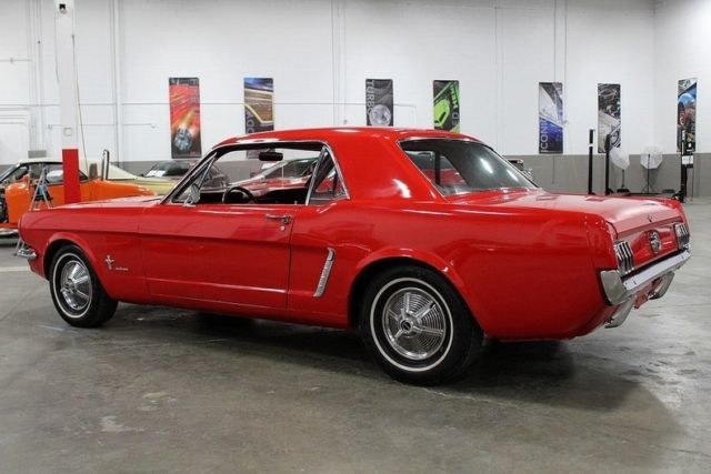 1965 ford mustang 99070 miles red coupe 200 cid inline for Ford motor company phone directory