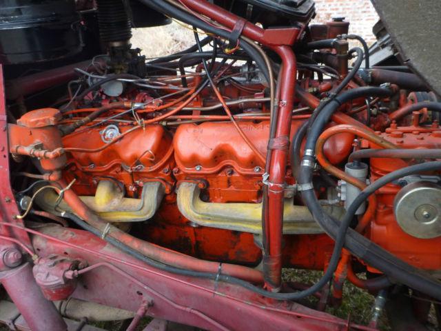 1965 Gmc 7000 Coe Fire Truck W Rare 702 V12 Motor Fully