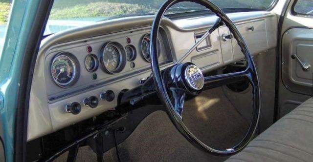 1965 gmc pickup 230cu 6 cylinder 3 speed manual complete frame off restoration for sale gmc. Black Bedroom Furniture Sets. Home Design Ideas