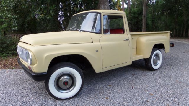 1965 INTERNATIONAL HARVESTER PICK UP WITH 4WD for sale
