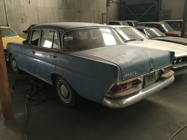1965 mercedes 220se project car fintail 220 seb no reserve for 1963 mercedes benz 220s for sale