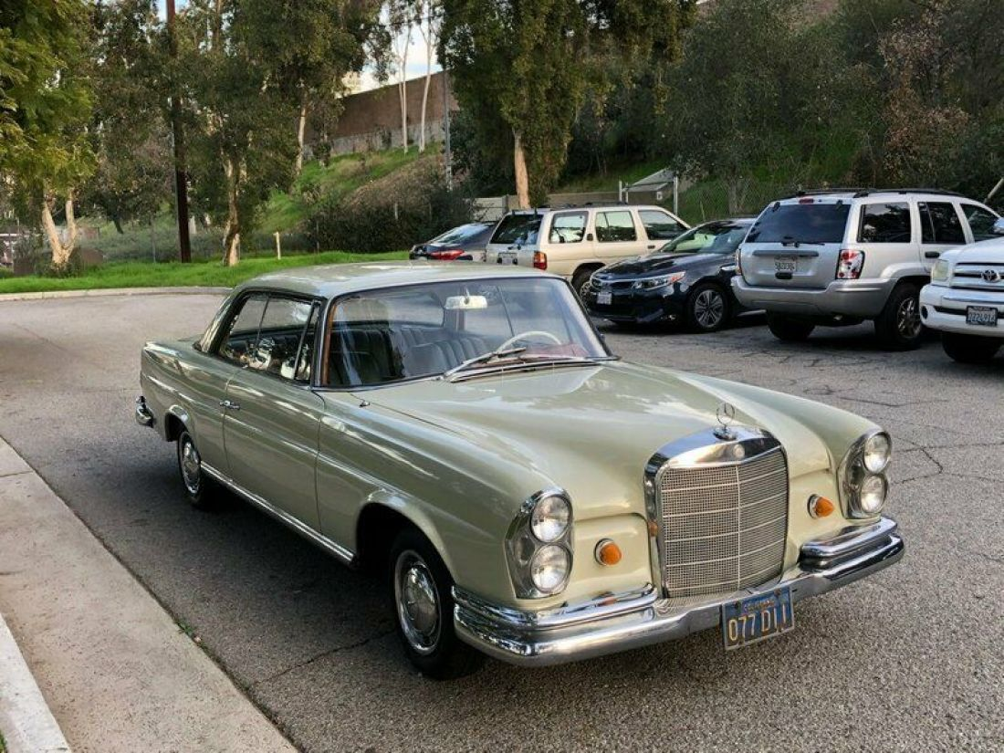 1965 Mercedes Benz 220 Se Coupe For Sale Mercedes Benz 220se 1965 For Sale In United States