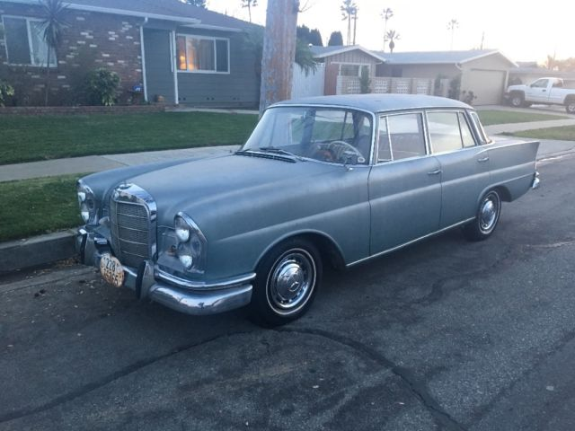 1965 mercedes benz 220se classic runs good clean title for 1965 mercedes benz 220se for sale