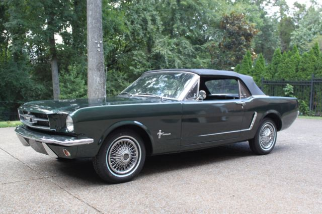 1965 Mustang Convertible Gorgeous 2 Owner Low Miles