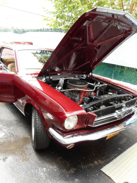 1965 mustang coupe 8 cylinder manual transmission high performance muscle car for sale ford. Black Bedroom Furniture Sets. Home Design Ideas