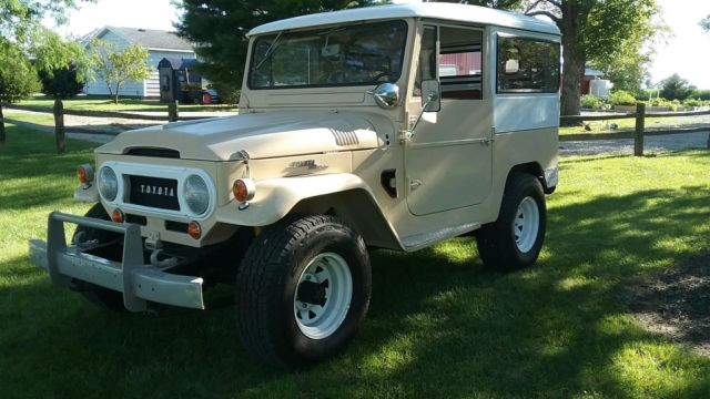 1965 toyota fj40 land cruiser one owner for 51 years near original condition for sale toyota. Black Bedroom Furniture Sets. Home Design Ideas