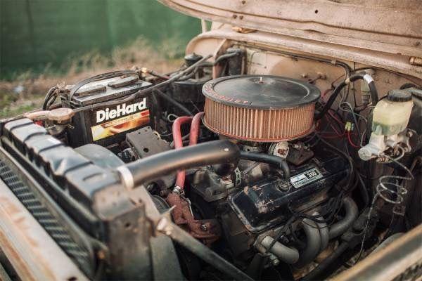 1965 TOYOTA LAND CRUISER FJ40 350 V8 CRATE MOTOR CALIFORNIA RUST