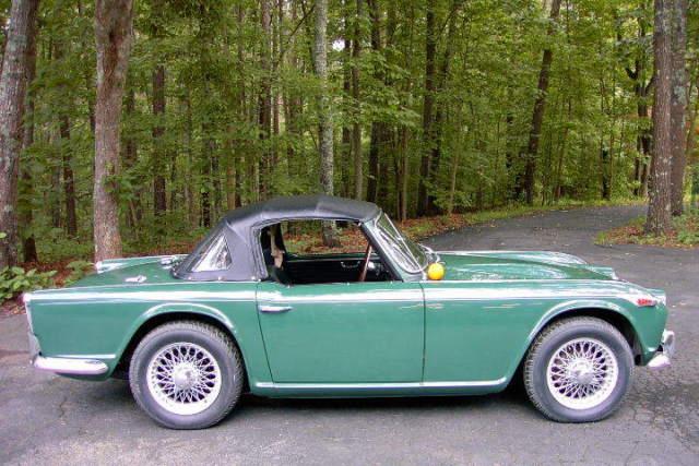 1965 Triumph TR4A Zero rust (ever) Original Paint Survivor One Owner