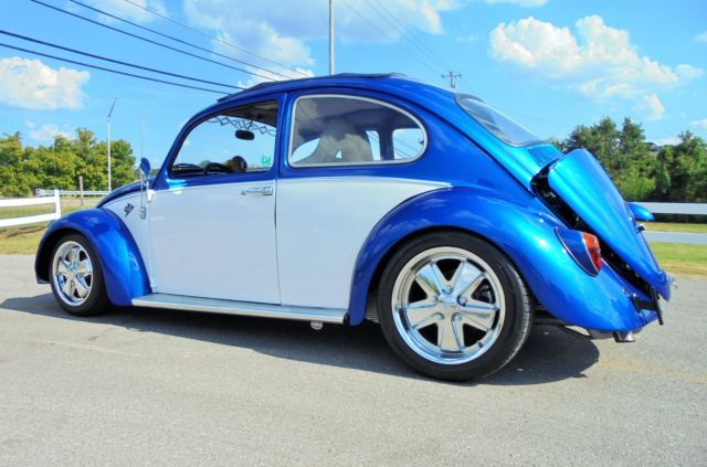 1965 Volkswagen Beetle 2332 Engine Turbo Staggered Wheels