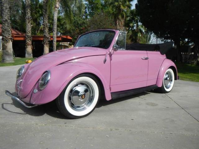1965 volkswagen beetle convertible restored excellent looking and driving exampl for sale. Black Bedroom Furniture Sets. Home Design Ideas