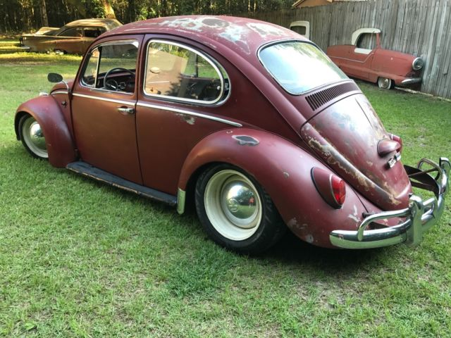 1965 Volkswagen VW Beetle Great Patina Hot Rat Rod Bug CHEAP must see for sale - Other Makes G80 ...