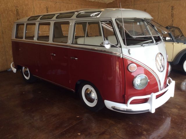 1965 vw 21 window bus just restored for sale volkswagen for 1965 21 window vw bus