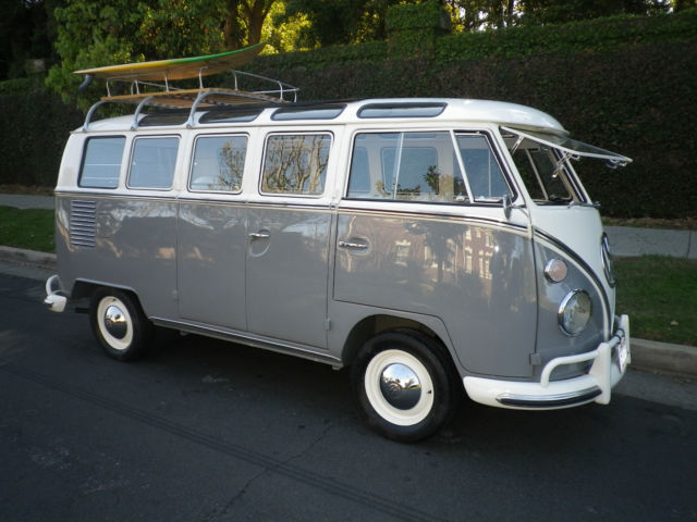 1965 vw 21 window rag top samba bus for sale volkswagen for 1965 21 window vw bus