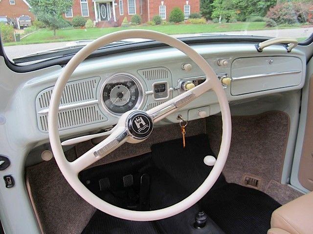 1965 vw bug frame off restoration 2050 cc motor all custom interior for sale volkswagen. Black Bedroom Furniture Sets. Home Design Ideas