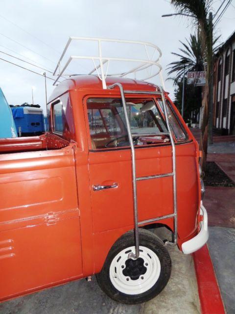 1965 VW SC PICKUP TRUCK RESTORED CALIFORNIA BEACH CRUISER For Sale  Volkswa