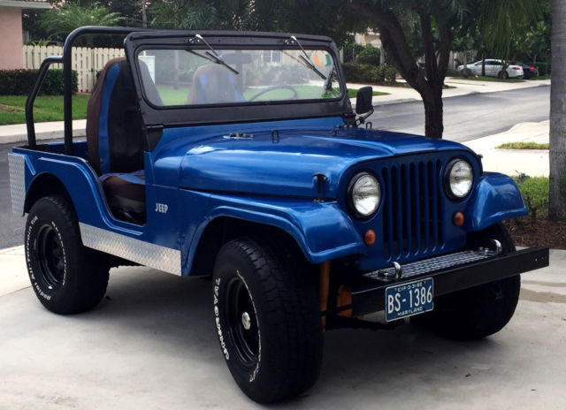 1965 Willys Jeep With Rebuilt Engine For Sale Willys