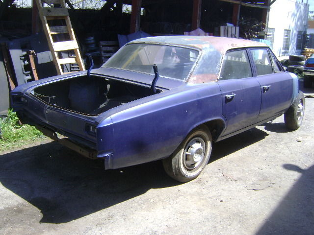 1966 1967 Chevelle Parts Car Or Donor Rust Free 4 Door